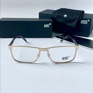 Mont Blanc Eyeglasses MB 674 028 Shiny Rose Gold